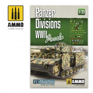 PANZER DIVISIONS WWII. DECALS
