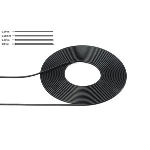 Tamiya Cable (Outer Diameter 0.5mm/Black)