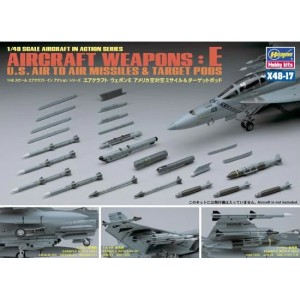 Aircraft Weapons: E US Air to Air Missiles & Target Pods