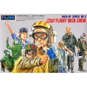 U.S. Navy Flight Deck Crew