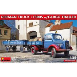 German Truck L1500S w/Cargo...