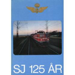 Statens järnvägar 125 år
