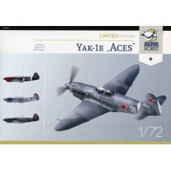"Limited edition Yak-1b ""Aces"""