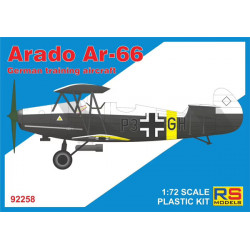 Arado Ar-66 German training...
