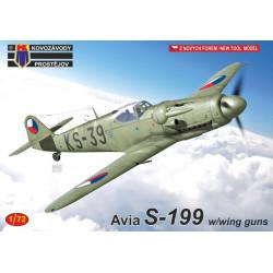 Avia S-199 w/wing guns