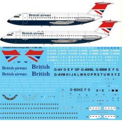 British Airways BAC 1-11...