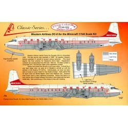 Western Airlines Douglas DC-6B