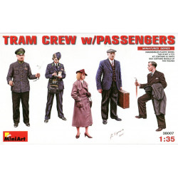 Tram Crew with Passengers
