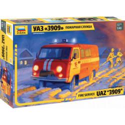 Fire Service UAZ 3909