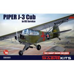 Piper J-3 Cub in US Service