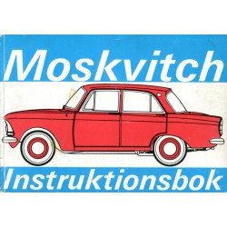 Moskvitch: Instruktionsbok