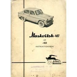 Moskvitch 407 och 423:...