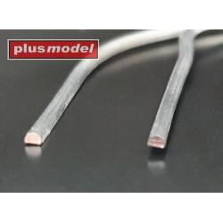 Lead wire halfround 1 mm