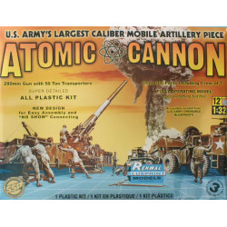 M-65 Atomic Cannon 280mm...