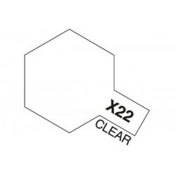 Tamiya Acrylic Mini X-22 Clear