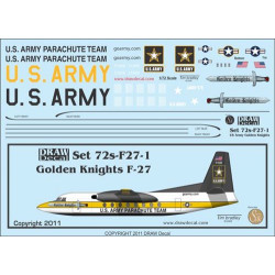 1:72 US Army Golden Knights...