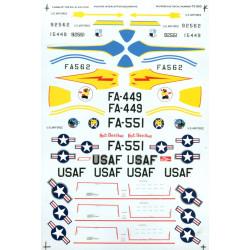 F-94 B´s 5th, 61 st & 319th...