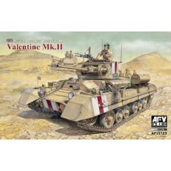 Valentine Mk.II British...