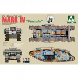 WWI Heavy Battle Tank Mark...