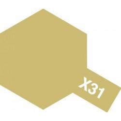 Tamiya  X-31 Titanium gold