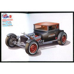 2'n 1 1925 Ford T Chopped
