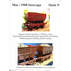 Mas/1908 Stenvagn Skala N