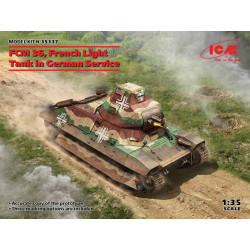 FCM 36 French Light Tank in...