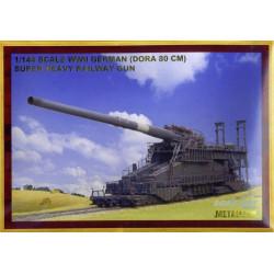 Railway Gun Dora 80 cm