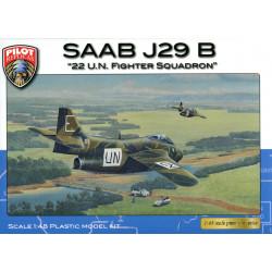 """SAAB J 29 B - """"22 U.N...."""