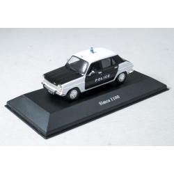 Police Cars: Simca 1100 1/43