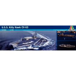 Aircraft carrier USS Kitty...