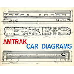 Amtrak Car Diagrams