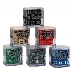 12mm Dice Cube Global Black
