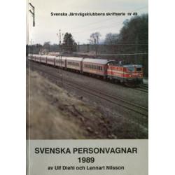 Svenska personvagnar 1989