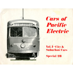 Cars of Pacific Electric,...