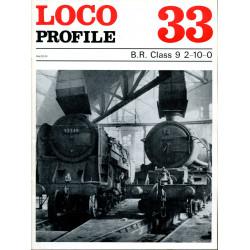 Loco Profile 33: B.R. Class...