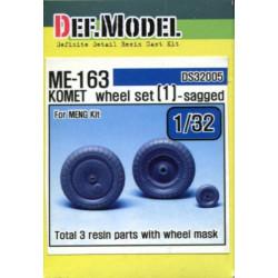 Me-163 Komet Wheel Set (1)...