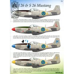 J 26 & S 26 Mustang