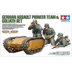 German Assault Pioneer Team...