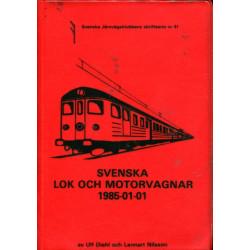 Svenska lok och motorvagnar...