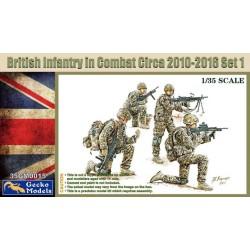 British Infantry In Combat...
