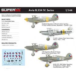 Avia B.534 IV. Series