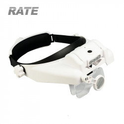 Pro Helmet LED magnifier, 6...