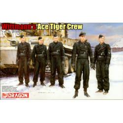 Wittmann's Ace Tiger Crew...