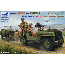 British Recce And Signals...