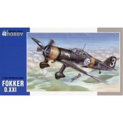 """Fokker D.XXI 3. sarja """"with..."""