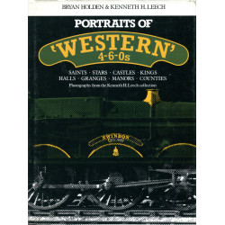 """Portraits of: """"Western"""" 4-6-0s"""