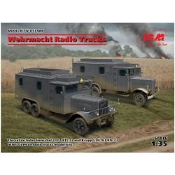 Wehrmacht Radio Trucks...