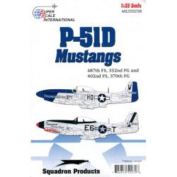 P-51D Mustang 487FS/352FG...