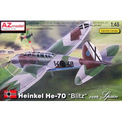 Heinkel He 70 Blitz over Spain